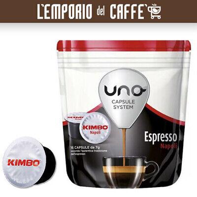 288 Cápsulas Café Illy KIMBO Uno System Indesit Mezcla Napoli - 100%...