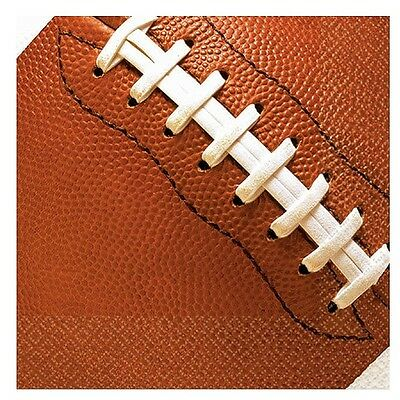 Football Beverage Napkins Football Theme party Birthday Party Cake Napkins