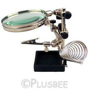 Magnifying Glass Clamp