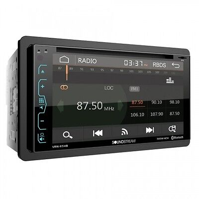 "SOUNDSTREAM VRN-65HB +2YR WARANT DVD CD MP3 PLAYER 6.2"" GPS NAVIGATION BLUETOOTH"