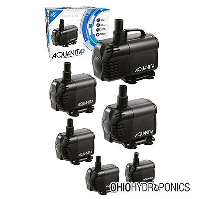 AquaVita 100-1056 GPH Submersible Water Pump Hydroponics ...
