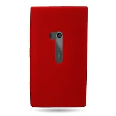 For Nokia LUMIA 920 - Silicone / TPU Flexible Red Case