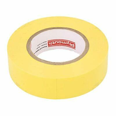 Plymouth 3899 Yellow Vinyl Weather Resistant Electrical Tape Lead Free 34 X 60
