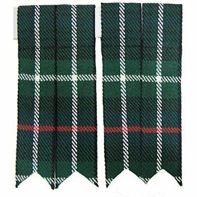 Kilt MacKenzie Flashes Wool Scottish Heritage Scotland