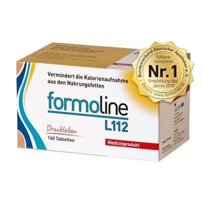 FORMOLINE L 112 dranbleiben Tabl. 160St PZN 02718724