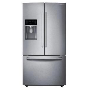 BRAND NEW FRIDGE SAMSUNG MOD. RF28HFEDBSR/AA STAINLESS STEEL WITH 1 YEAR WARRANTY!