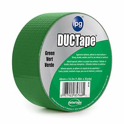 Ipg Jobsite Ductape Colored Duct Tape 1.88 X 20 Yd Green Single Roll