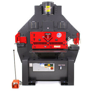 New Edwards 120 Ton Ironworker Iw120-3p230