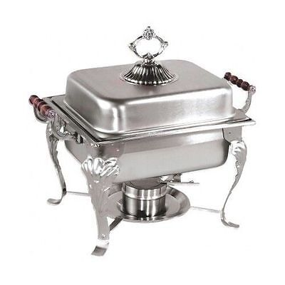 Classic 4qt Rectangular Chafing Dish Chafer Catering Buffet Warmer With Rebate
