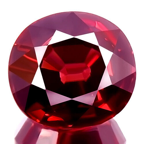 3.49ct WOW HUGE SPARKLING EARTH MINED NATURAL 5A+ PINK RED ZIRCON RARE GEMSTONE!