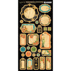 Graphic 45 Scrapbooking Chipboard Accents