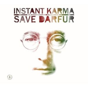 Instant Karma!/Save Darfur-Songs of John Lennon 2 cd set-nice!