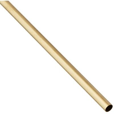 Precision Metals 8133 516 X 12 Round Brass Tube
