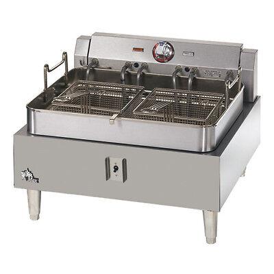 Countertop Fryer - Electric Single Kettle 30 Lb. Oil Capacity