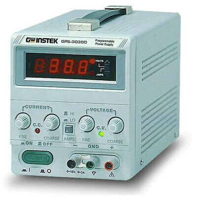 Instek Gps3030d Dc Power Supply 30v3a