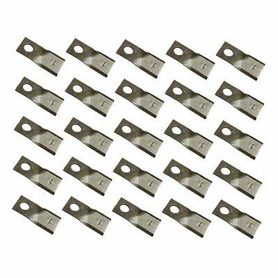 Disc Mower Blade - Right Hand 25 Pack Case Ih Mdx41 Mdx21 Mdx31 New Holland
