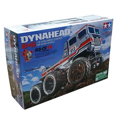 Tamiya 1/18 G6-01TR Dynahead 6X6 Off Road Monster Truck RC Cars Kit #58660 ()