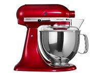 KitchenAid Mixer Artisan Apple Candy Red NEW