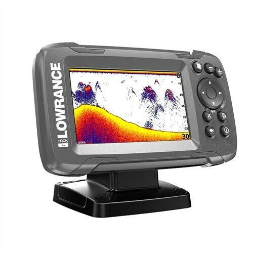 "Lowrance HOOK2-4 4"" Bullet Fishfinder Sonar with Transducer"