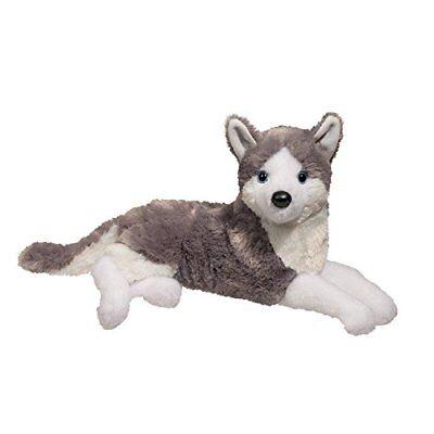 "Douglas Toys Glacier Husky Plush Stuffed Animal, 15"""
