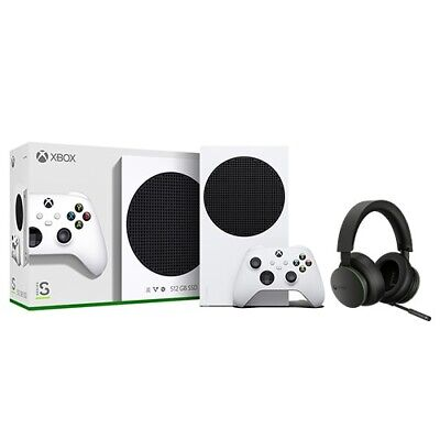 Xbox Series S 512GB SSD Console + Xbox Wireless Headset
