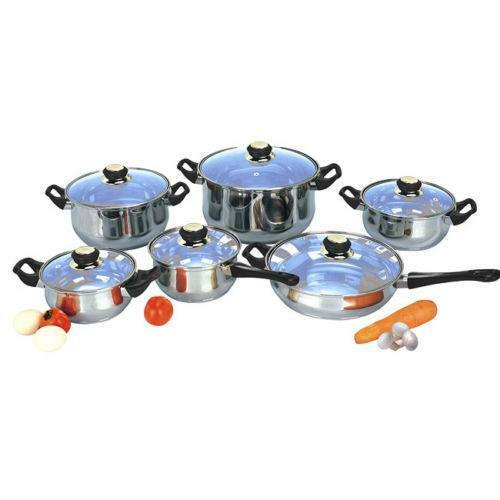 Stainless Steel Pots And Pans Ebay