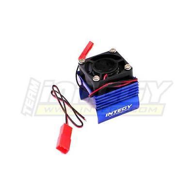 Integy Brushless Motor Heatsink Cooling Fan Blue 1/16 E-Revo Slash Summit Rally