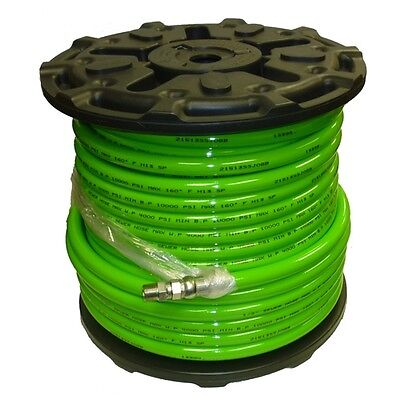 12 X 200 Sewer Jetter Hose 4000 Psi Green Solxswv Industrial Hose Free Sh