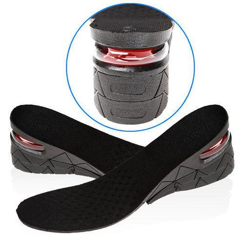 9cm Unisex Shoe Lift Height Increase Heel Insoles Insert Taller