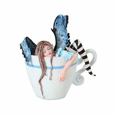Amy Brown I Need Coffee Mug Faery Tea Cup Fairies Statue