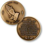 Serenity Prayer Coin