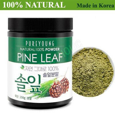 100% Natural Pine Needle Powder 250g Medicinal Korean Herbal Powder NEW
