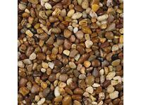 10mm Pea Shingle Gravel, Sea washed Decorative, Drive, Garden, Path etc 25kg bags