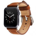 Faux Leather Band Brown 22mm Width Wristwatch Bands