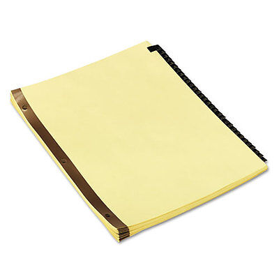 Universal Mylar Tab Dividers, 31 Numbered Tabs, Letter, Black/Gold, Set of 31 ()