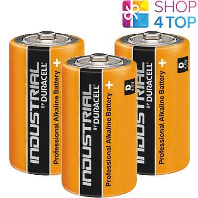 3 DURACELL D ALKALINE LR20 BATTERIEN 1.5V INDUSTRIE MONO R20 MN1300 AM1 E95 NEU Industrie Alkaline-batterien