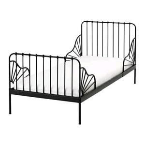 Lit évolutif pour enfants Ikea Minnen noir