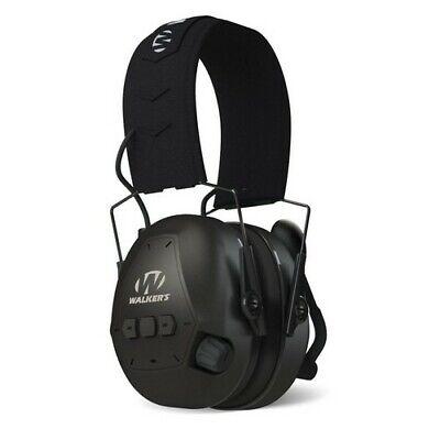 Walker's Passive Earmuff With Bluetooth Black Adjustable Boo