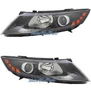 2011 Kia Optima Headlight