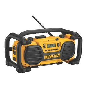 Dewalt radio cleaning out garage moving out sale