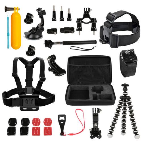 For GoPro Accesories Set Kit Hero 1 2 3 3 4 5 Camera Head Chest Mount Bike Sport