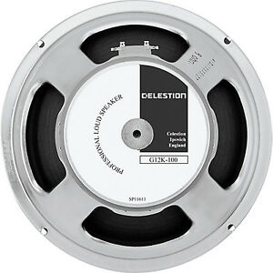 2 Celestion G12K 100 Speakers