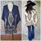 Plus Size Poncho Sweaters for Women