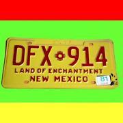 Nummernschild Mexiko
