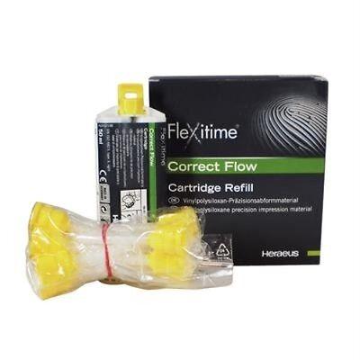 Flexitime Correct Flow - 2 X 50 Ml Cartridges 50034806 Heraeus Kulzer
