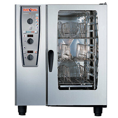 Rational Model 101 A119106.12.202 Electric Combi Oven With Ten Half Size Sheet