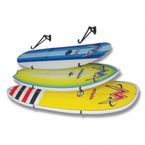 "Skateboards Wakeboards Surfboard Storage Racks  2.5"" Curl  Lot of 6"