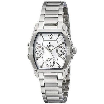 Bulova Women's 96P127 Stainless Steel Chronograph Wintermoor Multifunction Watch