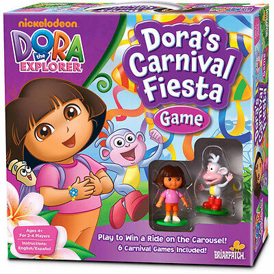 (Briarpatch Dora the Explorer Dora's Carnival Fiesta Board Game NEW IN BOX!)