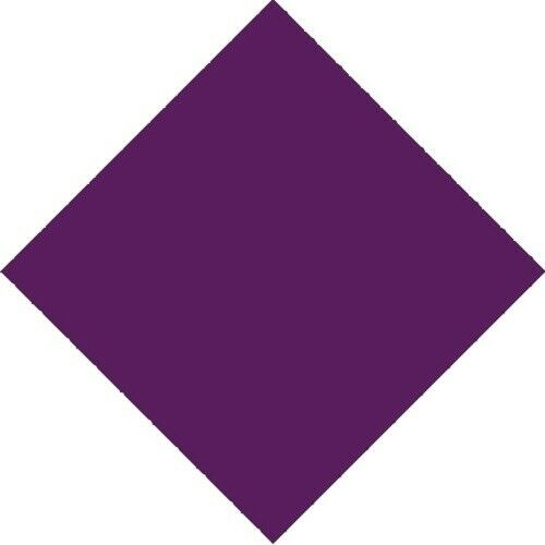 3x+NO+Pattern+Plain+Bandana+Head+Neck+Scarf+Face+Covering+Mask+Wrist+Wrap+Purple